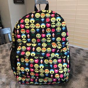 Handbags - Emoji Design Backpack